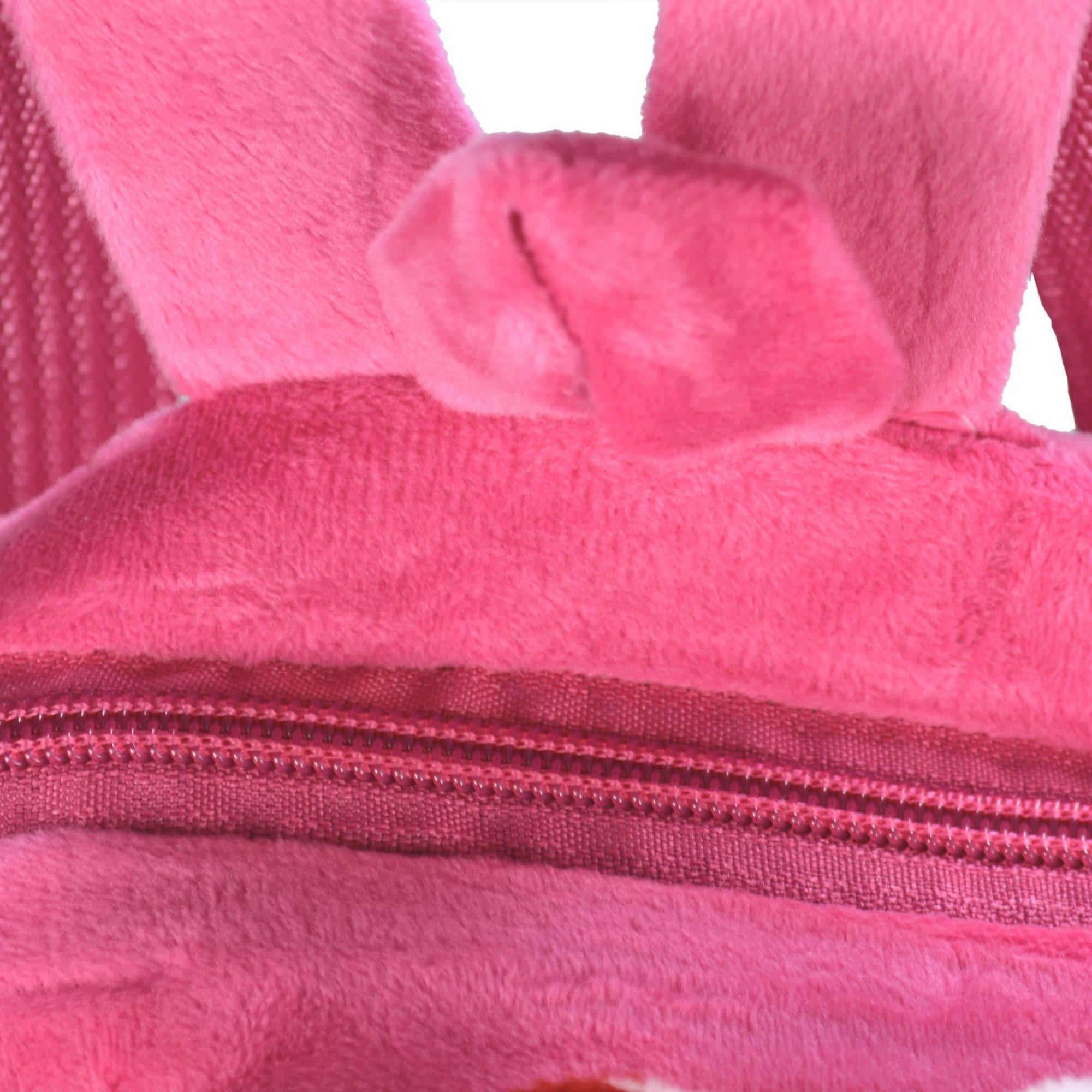 Mochila infantil Pelucia 3D porquinho pink CBRN07660
