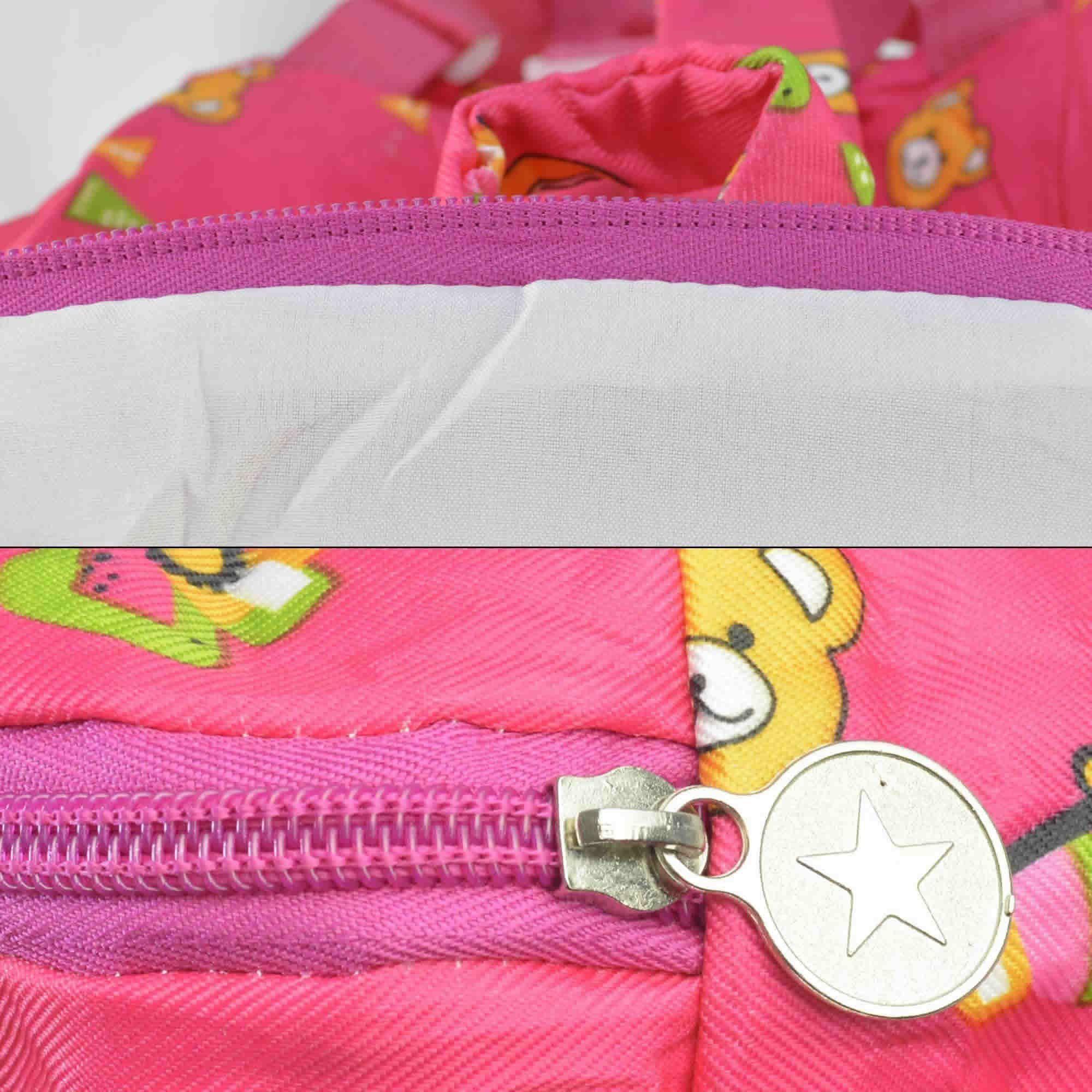 Mochila infantil Pelucia 3D urso pink CBRN07608