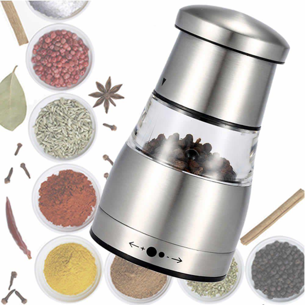 Moedor de pimenta e sal aço inox luxo 11cm CBRN01460
