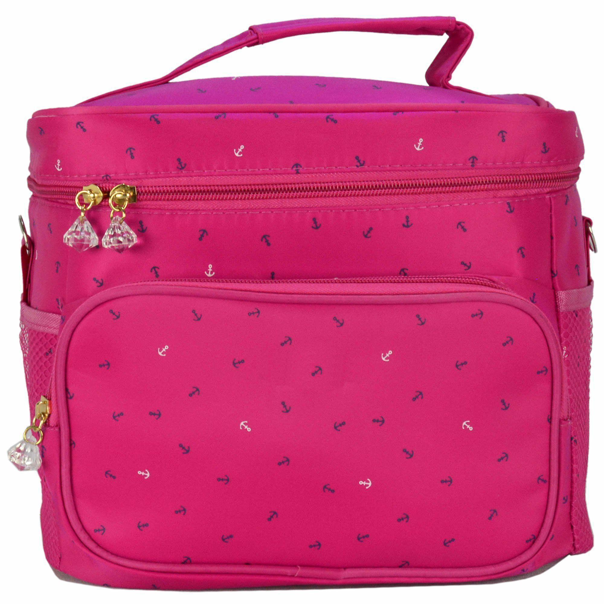 Nécessaire Feminina Bolsa Térmica Fitness Pink CBRN08056