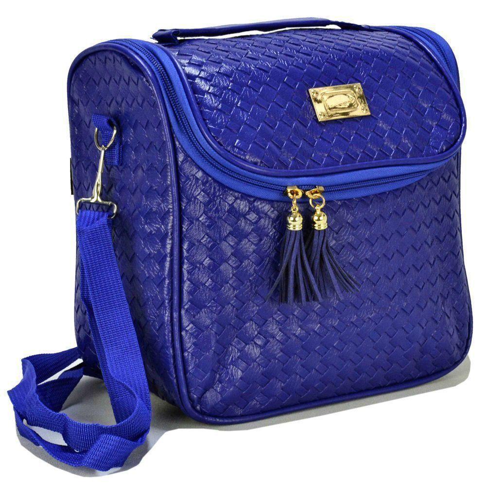 Nécessaire Feminina Bolsa Térmica Luxo Azul CBRN07813