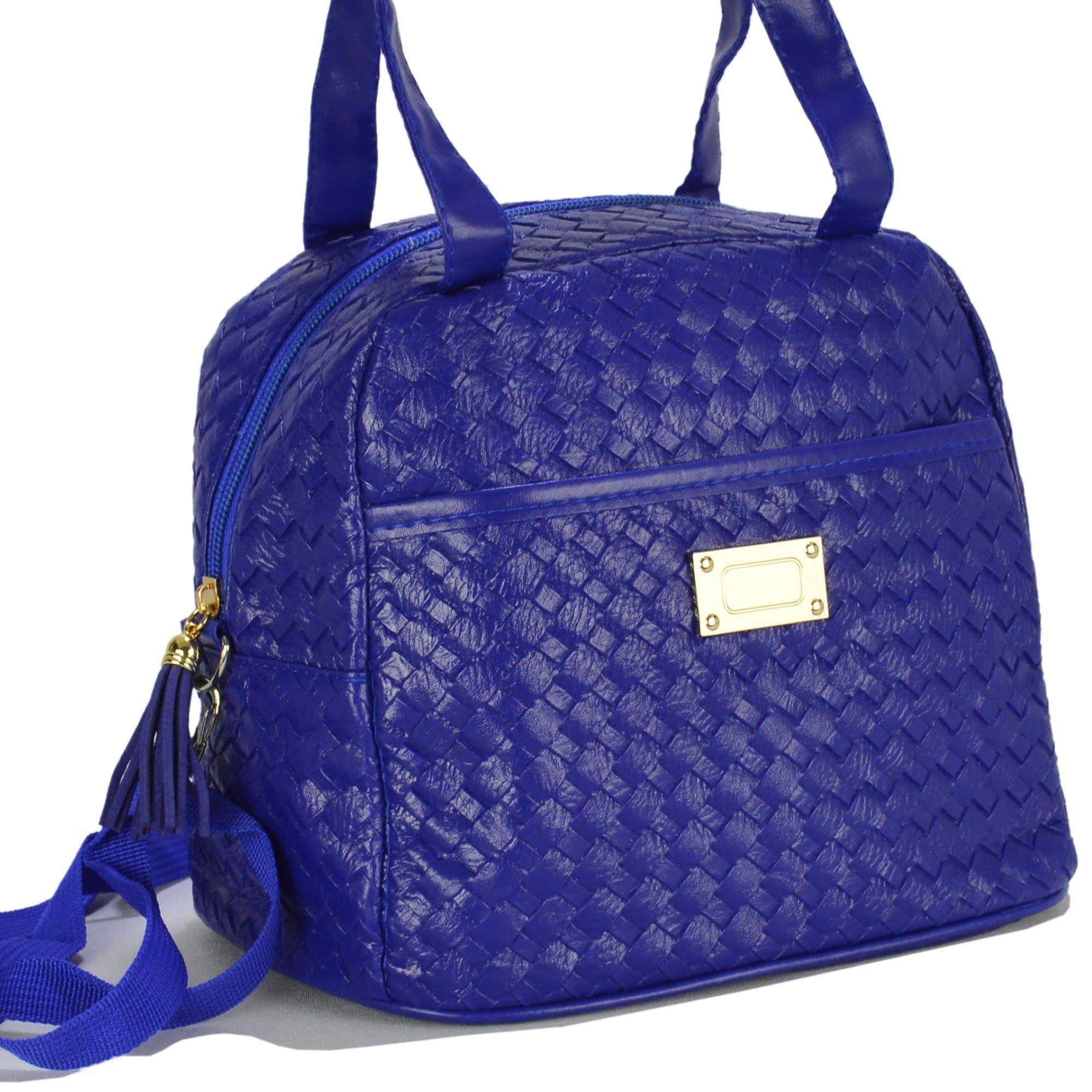 Nécessaire Feminina Bolsa Térmica Luxo Azul CBRN07882