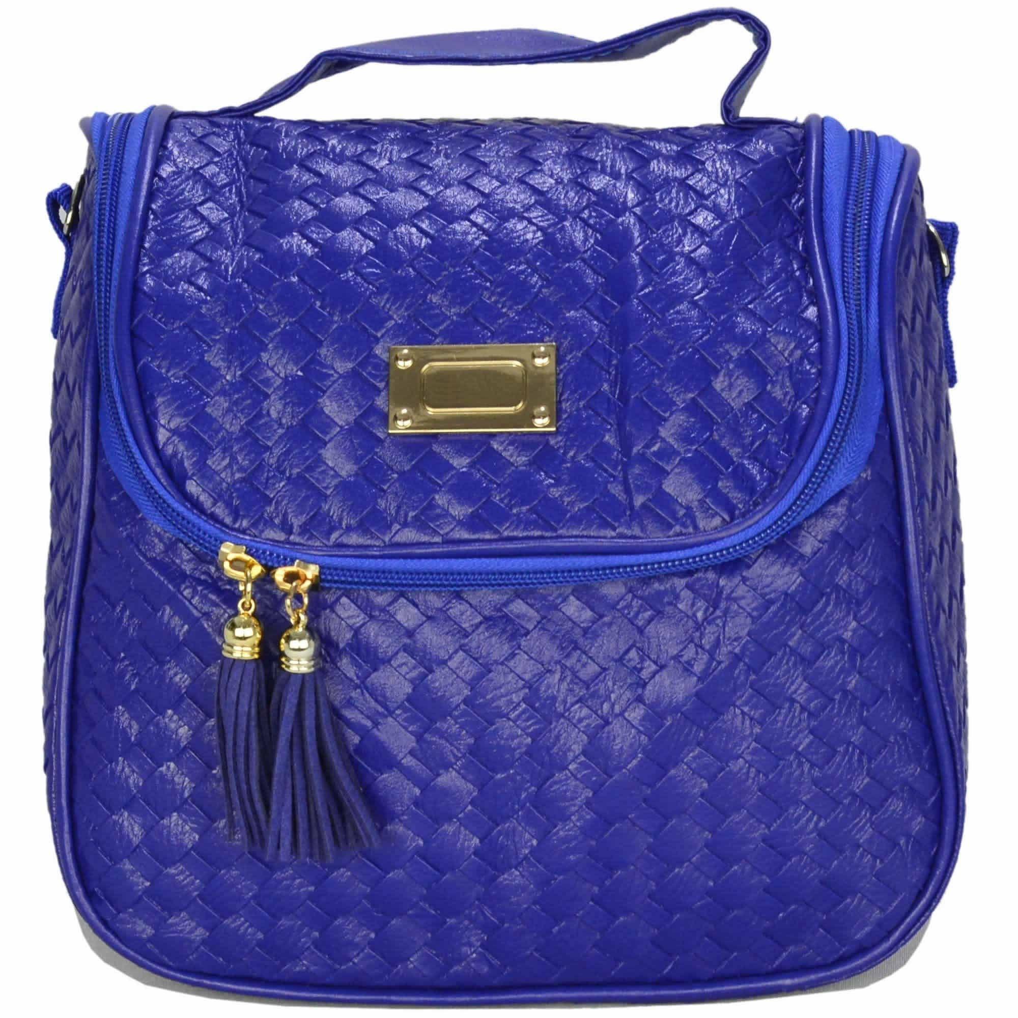 Nécessaire Feminina Bolsa Térmica Luxo Azul CBRN07950