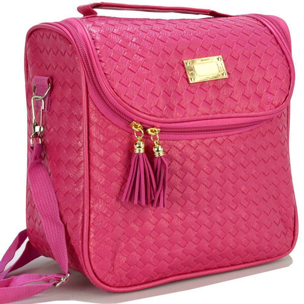 Nécessaire Feminina Bolsa Térmica Luxo Pink CBRN07844