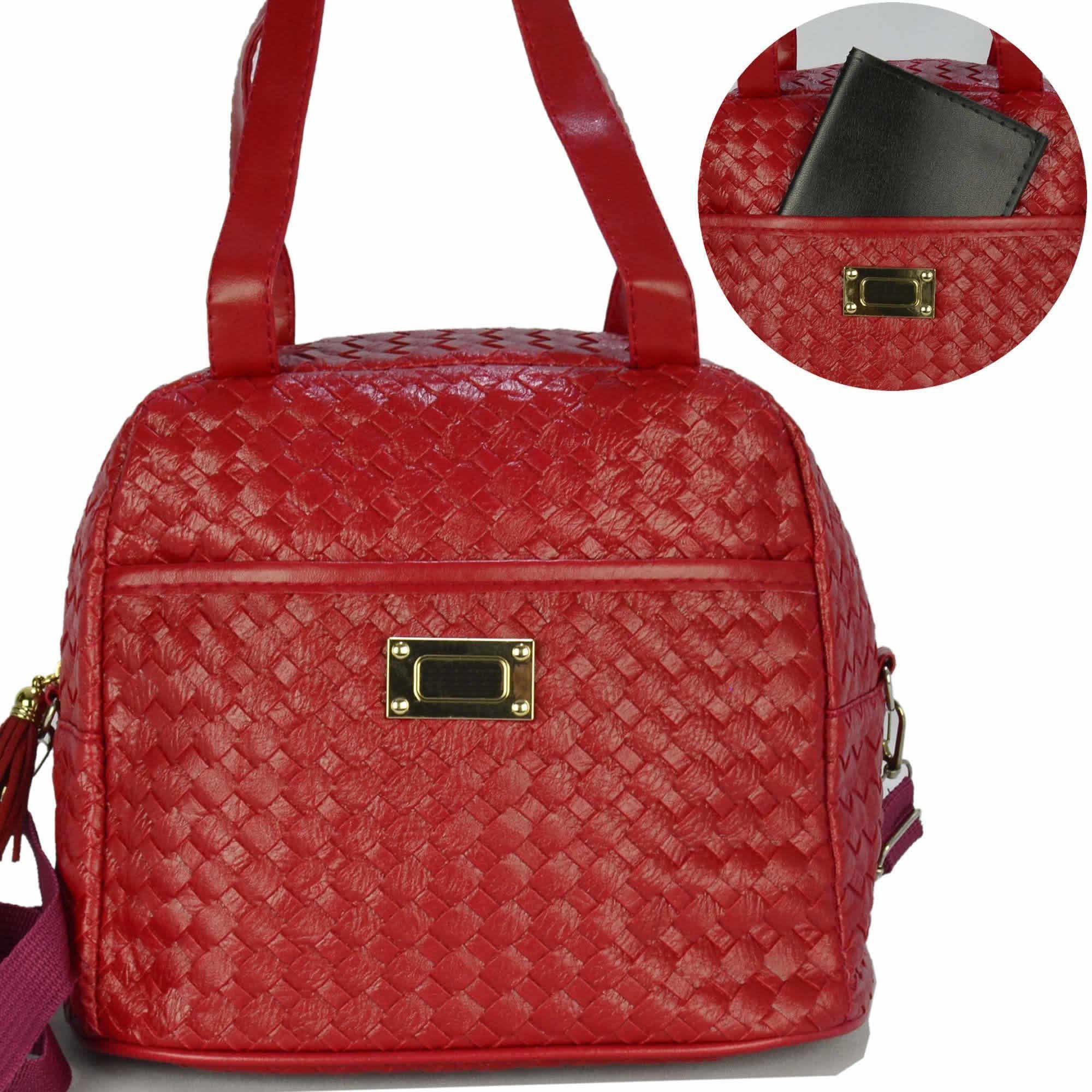 Nécessaire Feminina Bolsa Térmica Luxo Vermelho CBRN07943