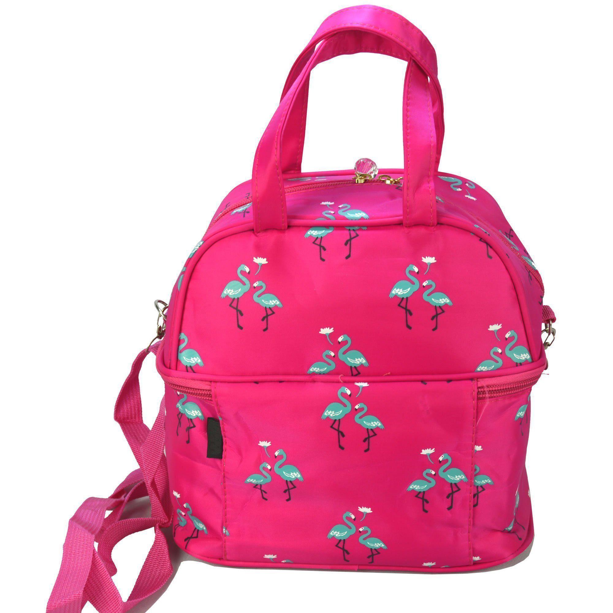 Necessaire Feminina Bolsa Térmica Pink CBRN05857