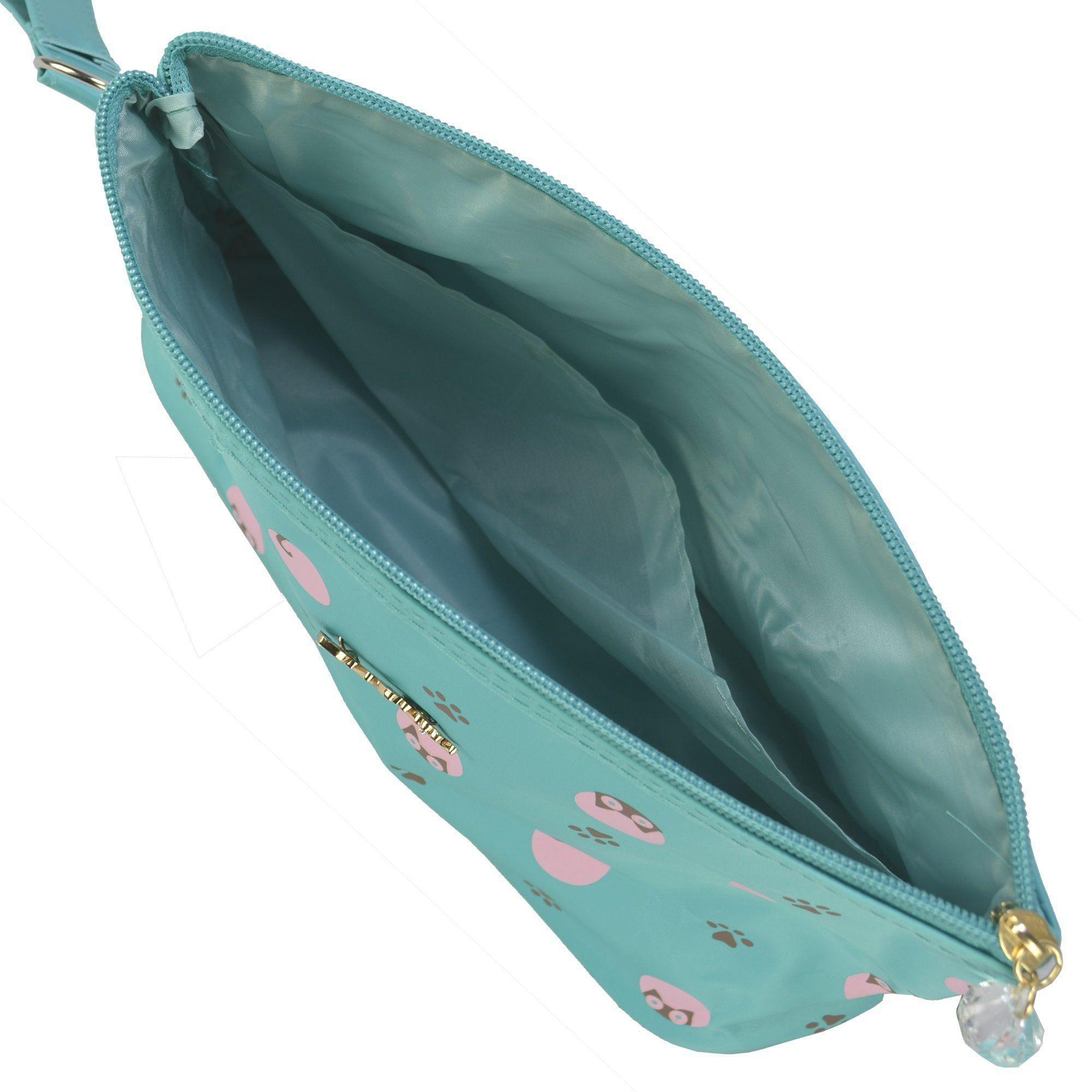 Necessaire Feminina Organizadora Verde Tiffany CBRN05765