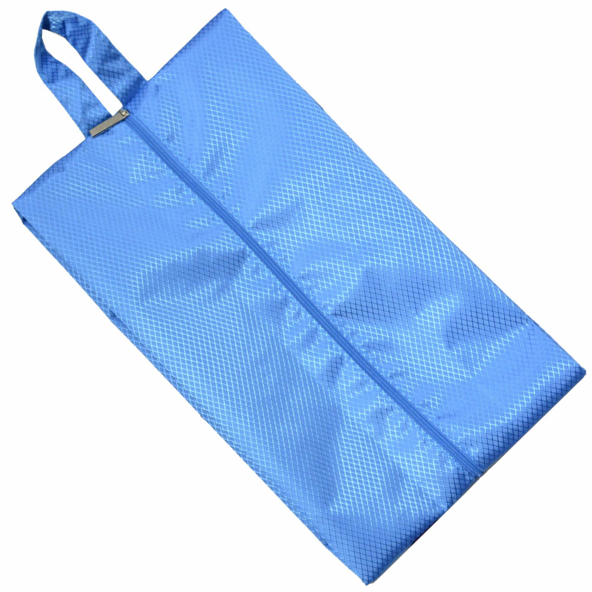 Organizador de Mala Viagem Necessaire Kit 7 Peças Azul Claro CBRN113654