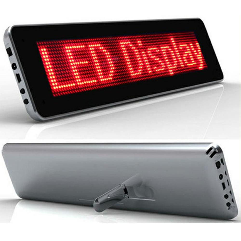 Painel eletronico letreiro luminoso LED 1673 YL966R