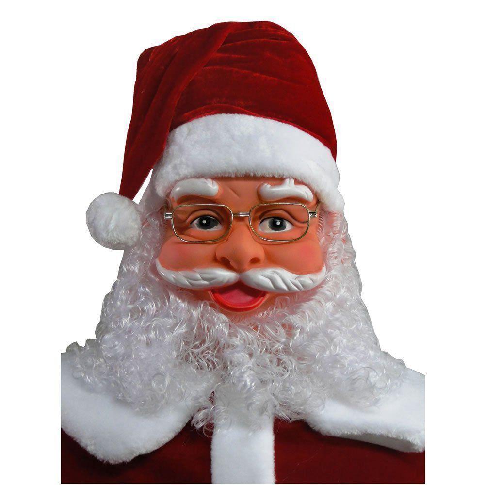 Papai Noel Dança e Canta 1,80m Bivolt 1499 Vermelho CBRN08636