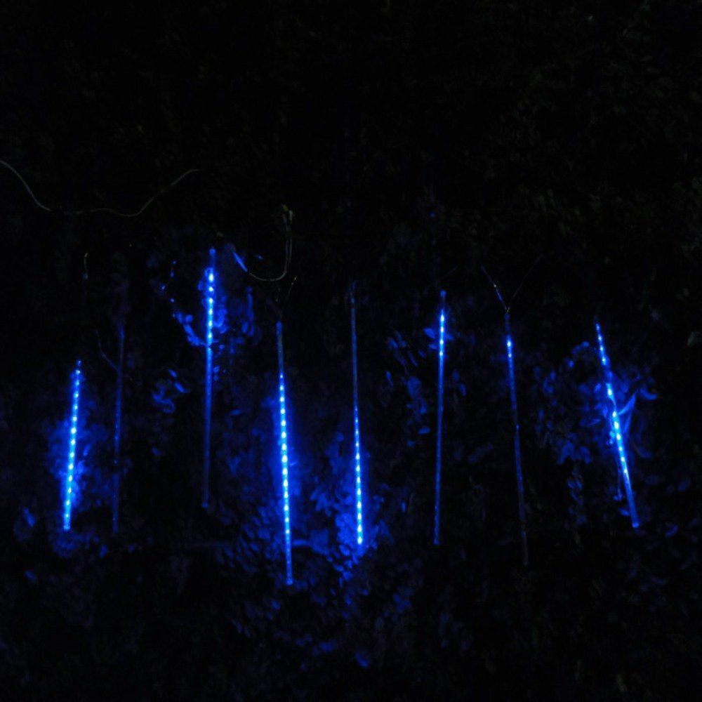 Pisca Led Turbo Azul Snow Fall 50 cm 160 LEDs com 8 Tubos