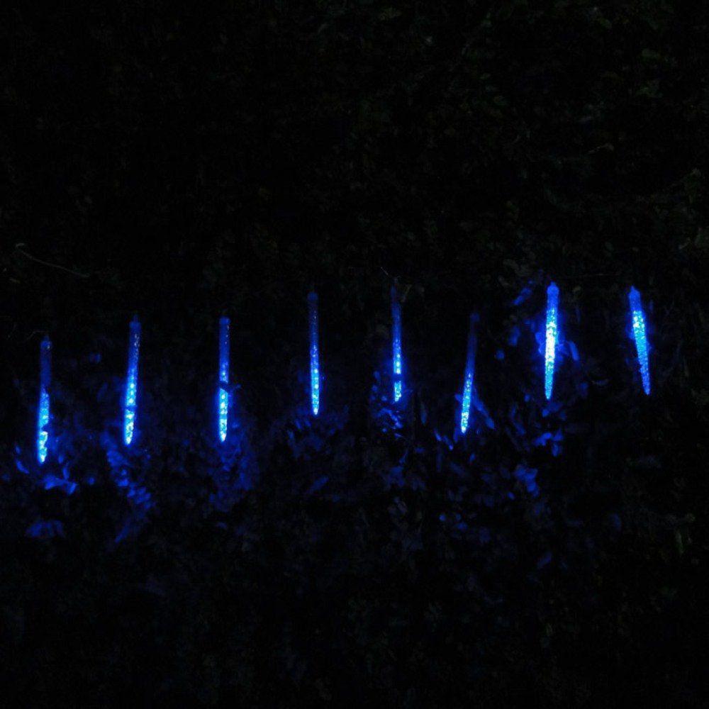 Pisca Led Turbo Azul Snow Fall 8 Tubos 23cm 80 Leds 1327 Bi-volt