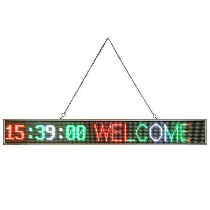 Painel eletronico letreiro luminoso LED 1689 YL-502