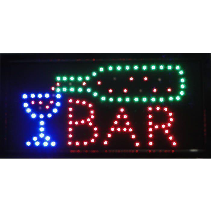 Letreiro luminoso de Led 110v Bar 1602