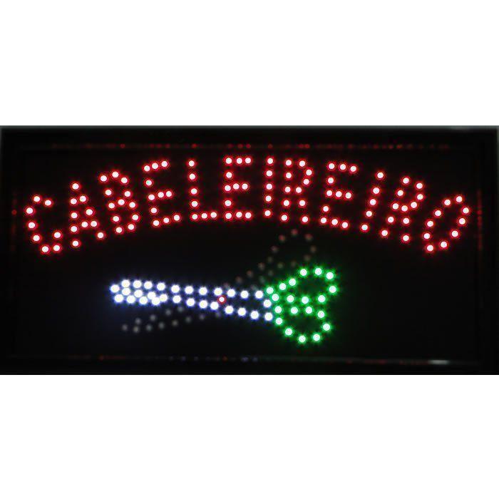 Letreiro luminoso de Led 110v Cabeleireiro 1604