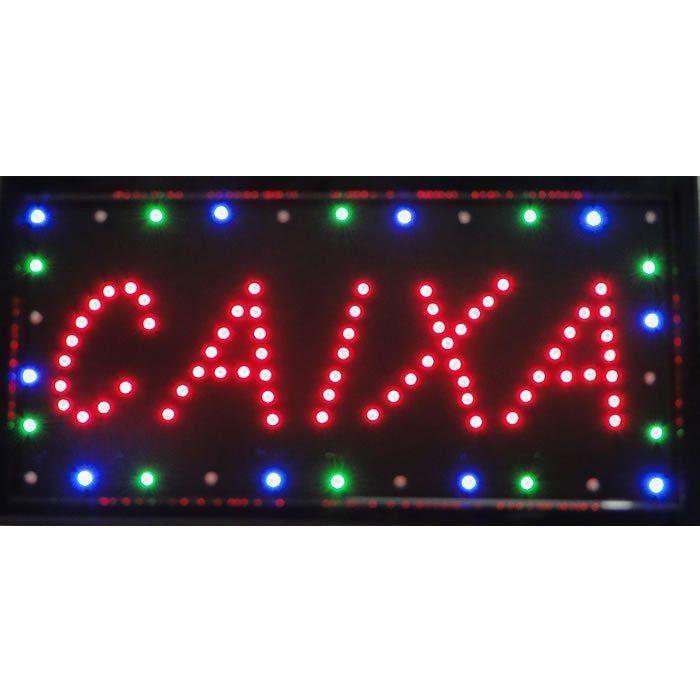 Letreiro luminoso de Led 110v Caixa 1600