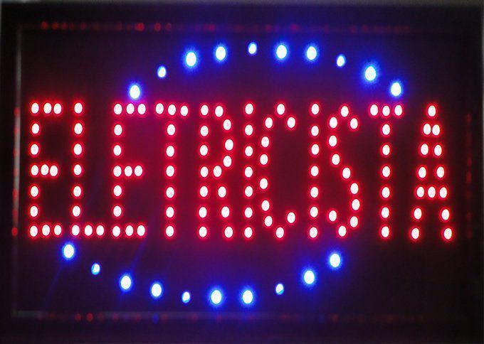 Letreiro luminoso de Led 110v Eletricista 1622
