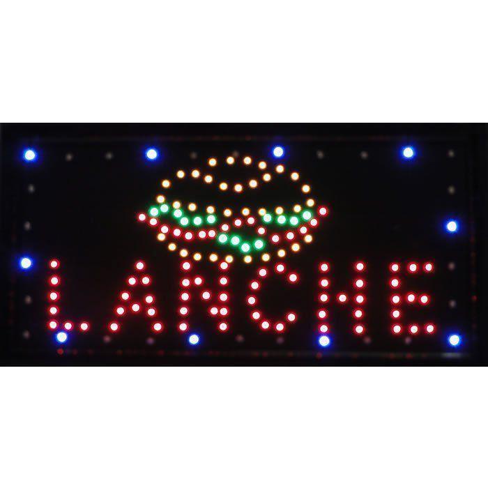 Letreiro luminoso de Led 110v Lanche 1611