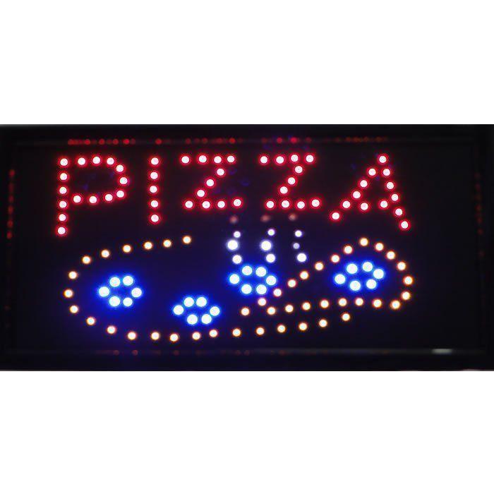 Letreiro luminoso de Led 110v Pizza 1601