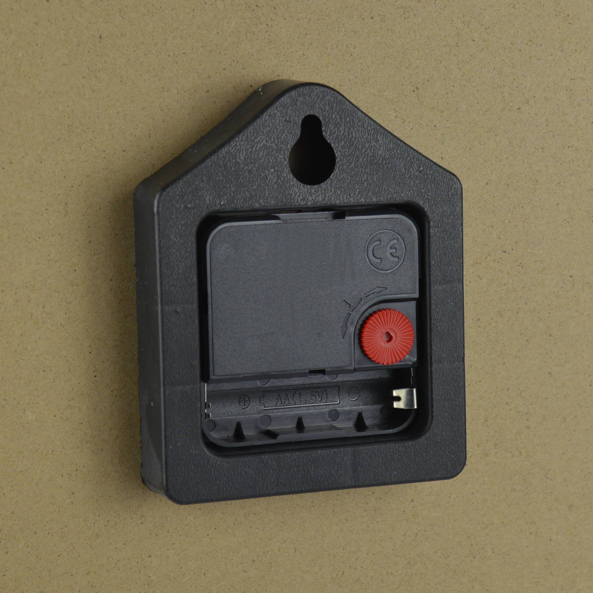 Relógio de Parede Estilo Rústico Coruja CBRN07066