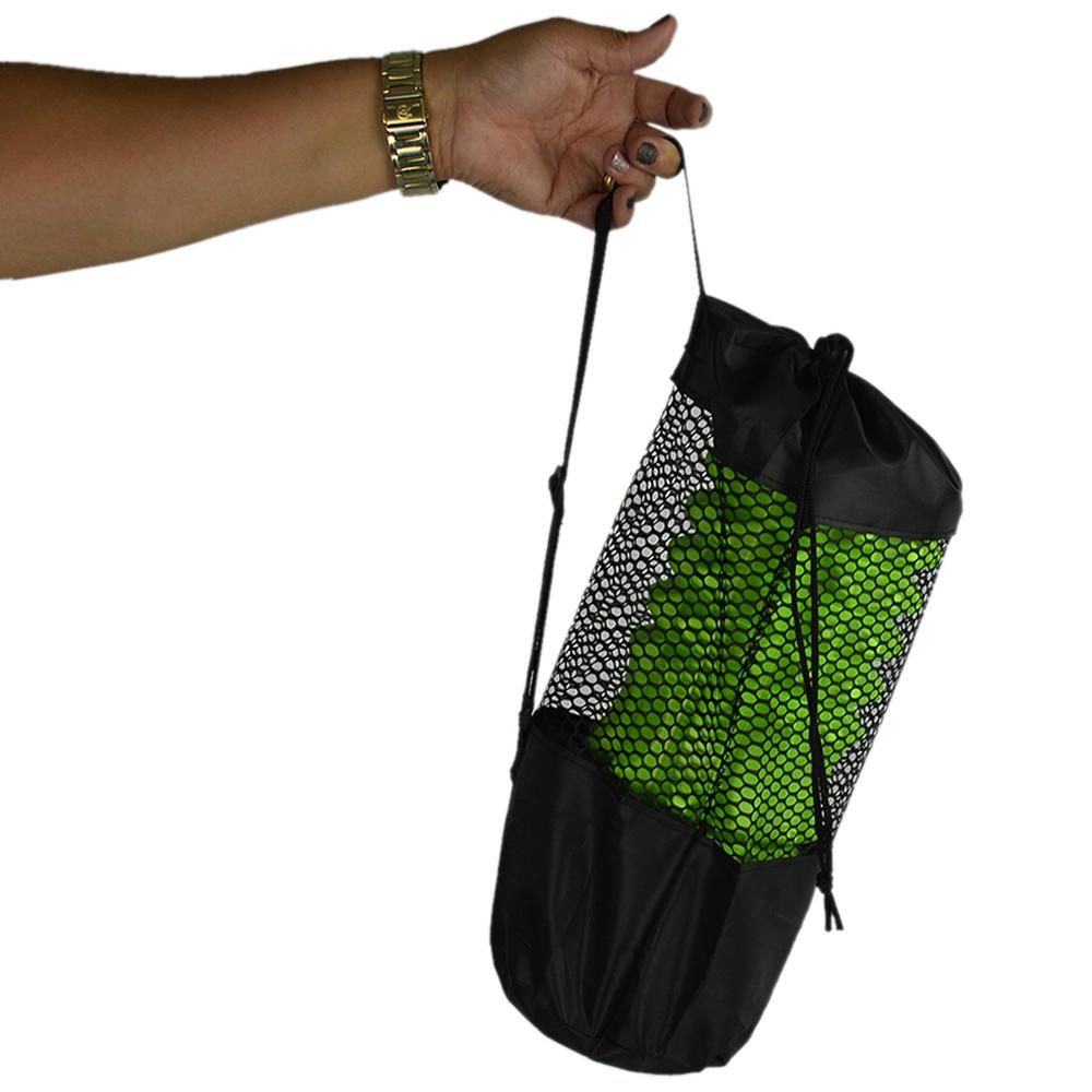 Rolo De Liberação Miofascial Massageador Yoga Verde CBRN15719