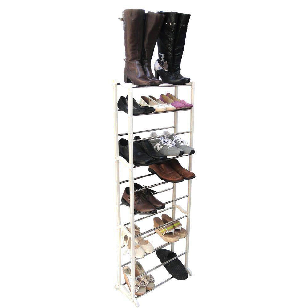 Sapateira Desmontável em PVC 20 pares de sapatos CBR01103