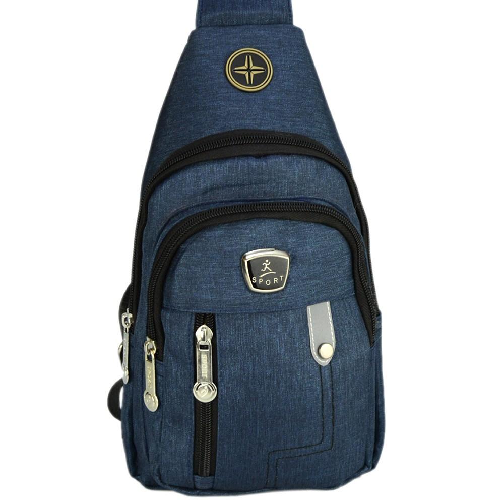 Shoulder Bag Mochila Transversal Bolsa Unisex Azul 03 CBRN12268