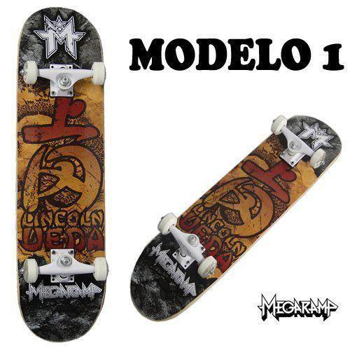 Skate board Semi-Profissional Pró Mega Rampa BelSports cod 4030