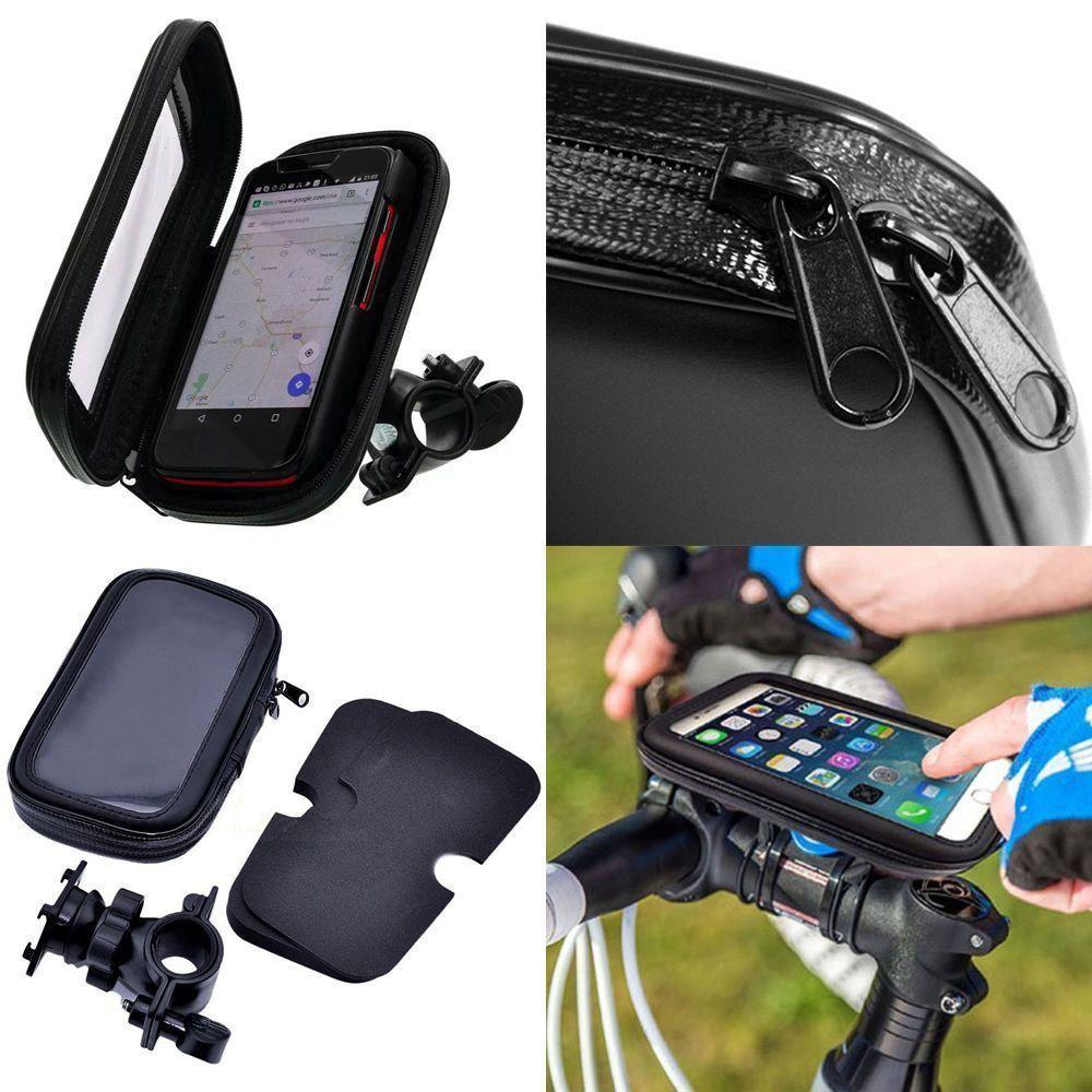 Suporte Capa Para Celular Bicicleta Moto Prova D´água CBRN06526