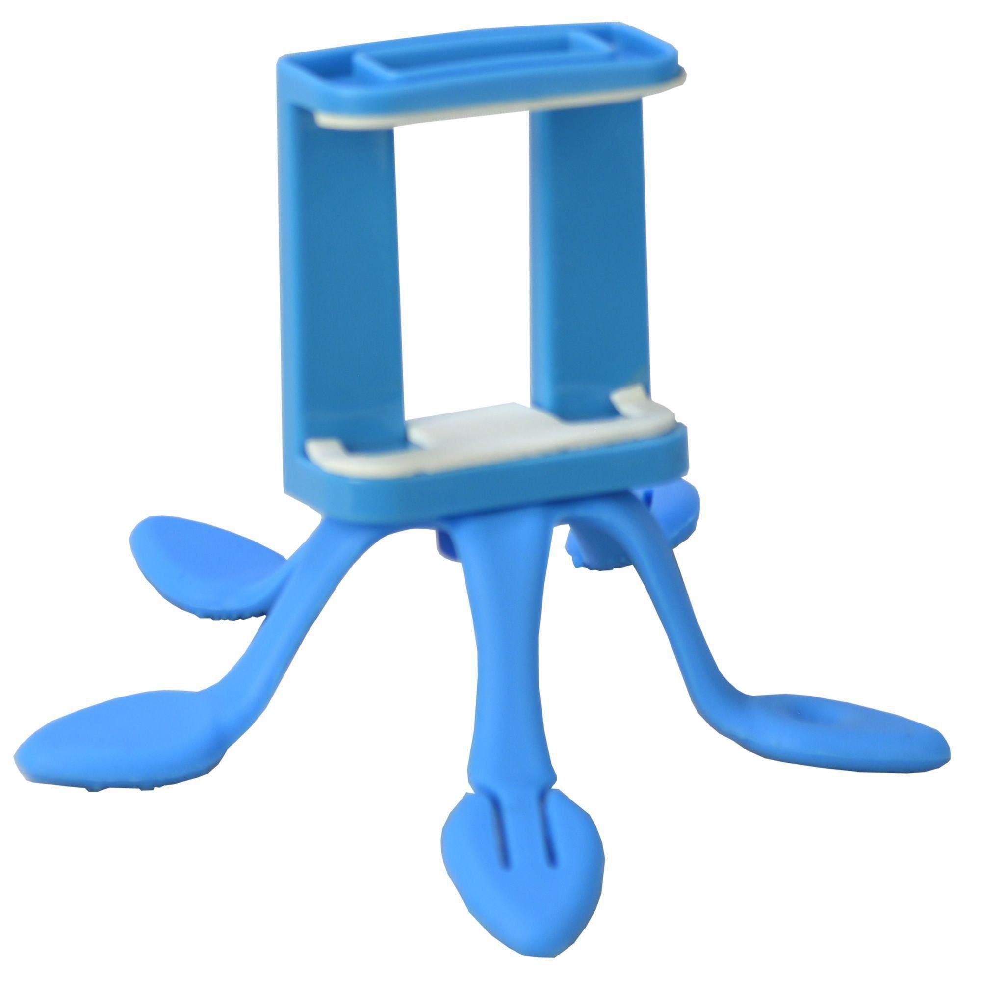 Suporte Para Celular Flexível Tripod Azul CBRN06540