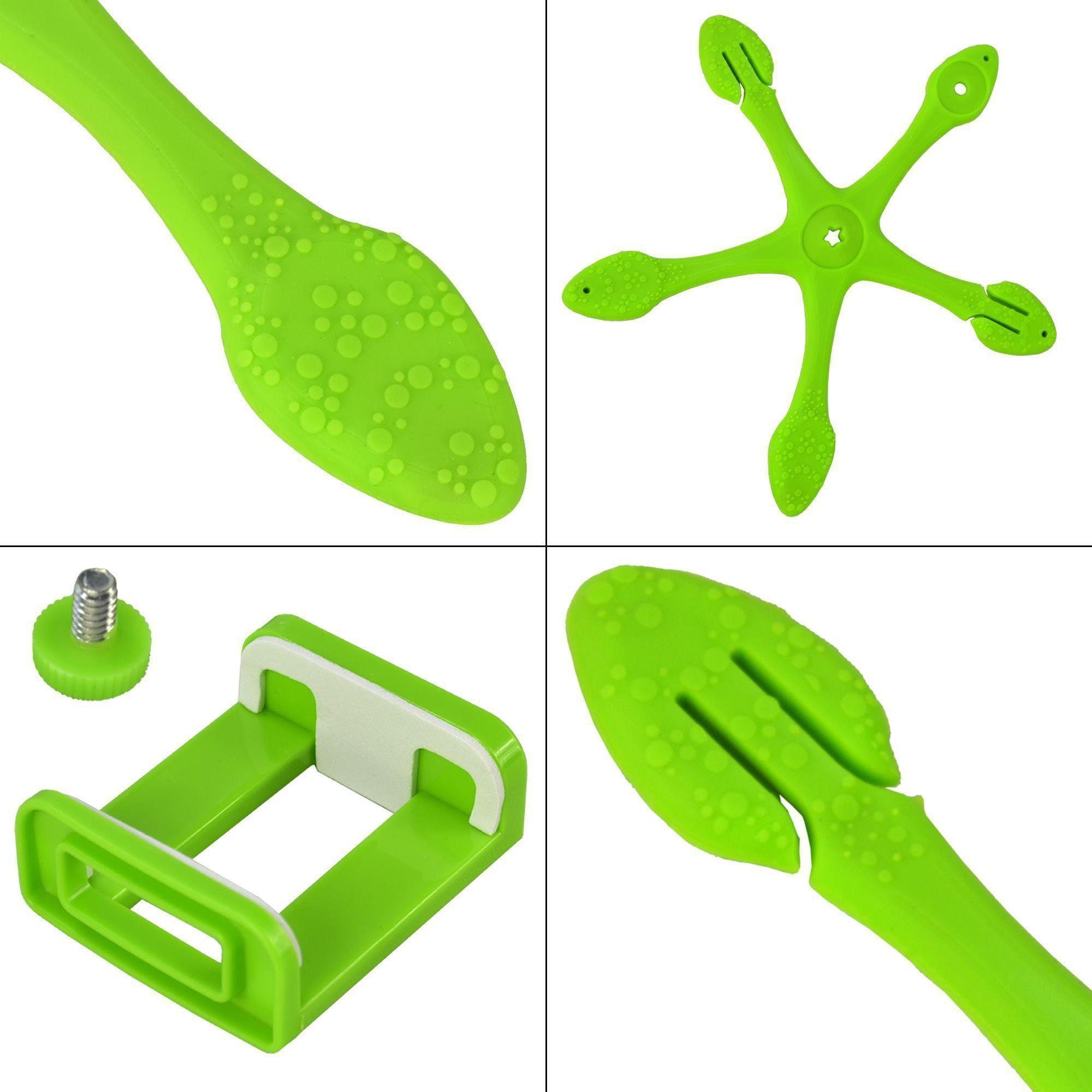 Suporte Para Celular Flexível Tripod Verde CBRN06410