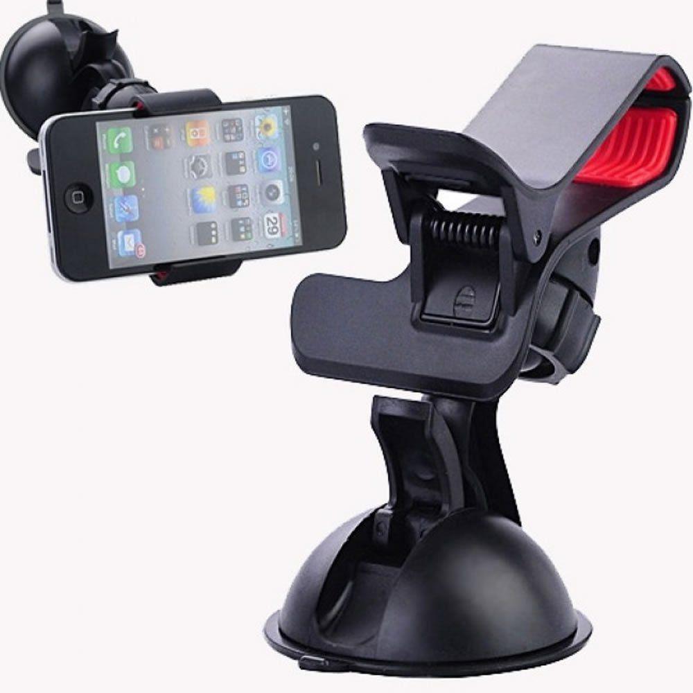 "Suporte Universal GPS,Celular,Tablet 7"" Auto Preto CBRN0067"