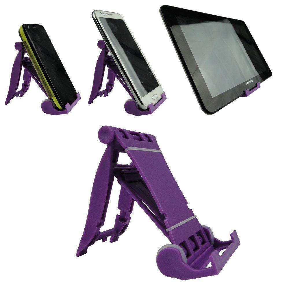 Suporte para celular, Tablet, E-book, Roxo CBRN02115