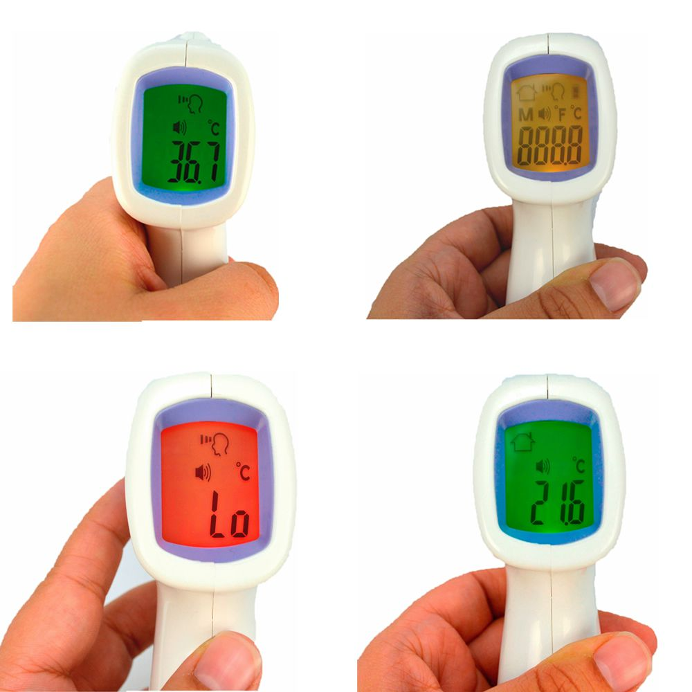 Termômetro Digital Infravermelho De Testa Medidor Temperatura CBRN14101