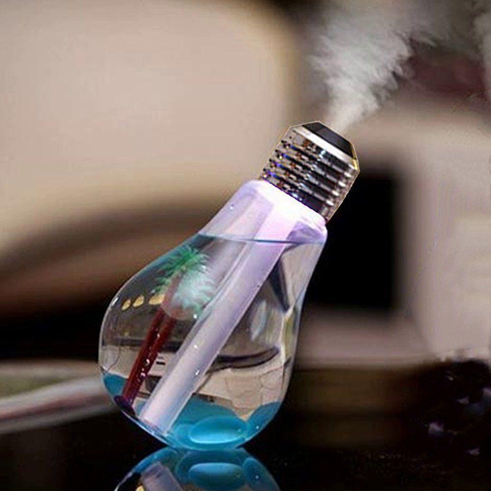 Umidificador de ar Lâmpada Luminária LED + adaptador tomada CBRN07707