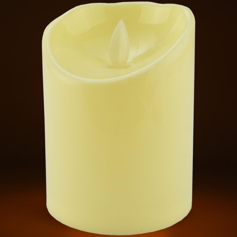 Vela Led Eletrônica Chamejante Amarelo KIT 1 peça CBRN10622