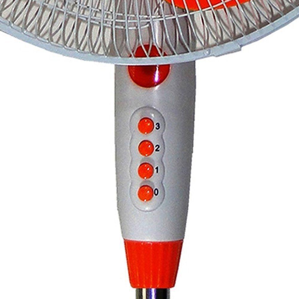 Ventilador de Coluna Oscilante Laranja 40cm 110VOLTS CBRN0807