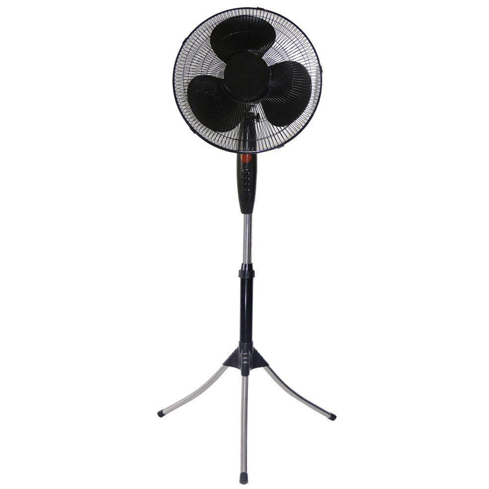 Ventilador de Coluna Oscilante Preto 40cm 110VOLTS CBRN0845