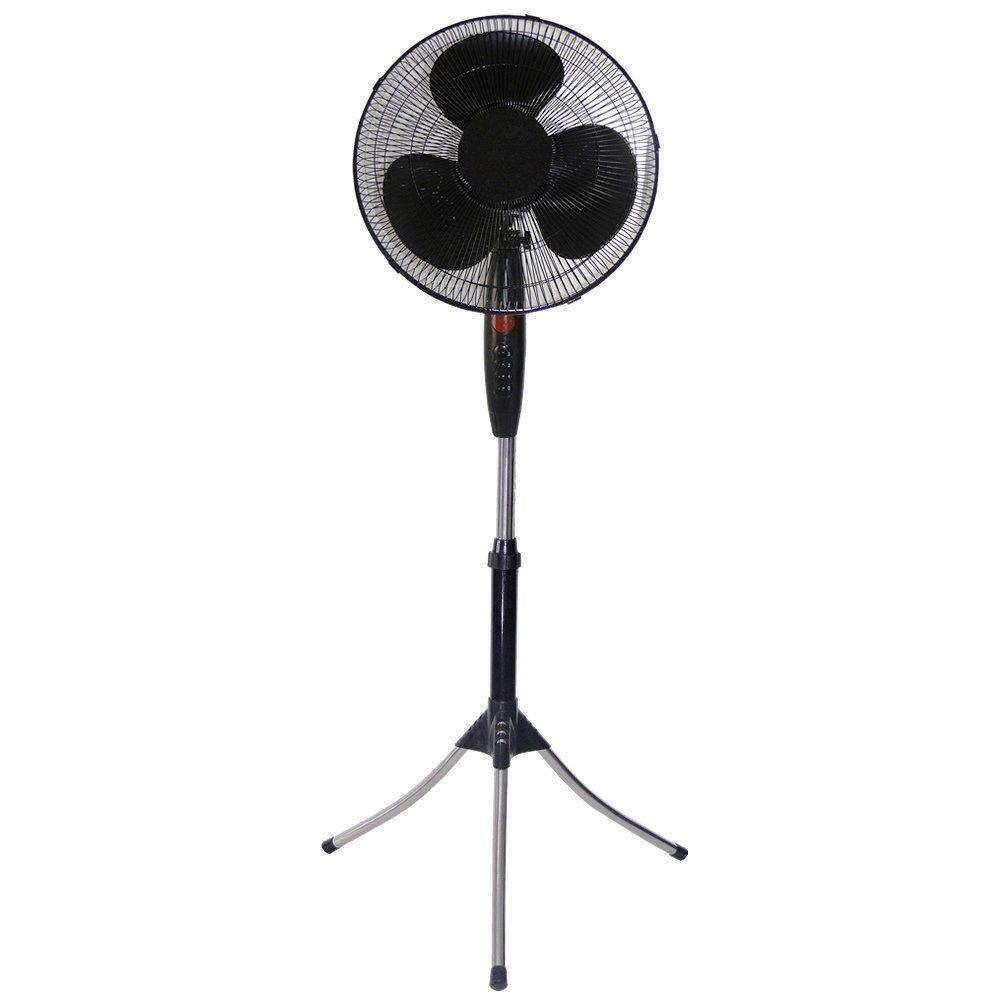 Ventilador de Coluna Oscilante Preto 40cm 220VOLTS CBRN0838