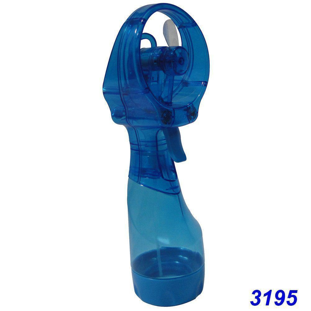 Ventilador Portátil Borrifador Umidificador Spray Plus O2 Cool 3195 - Azul