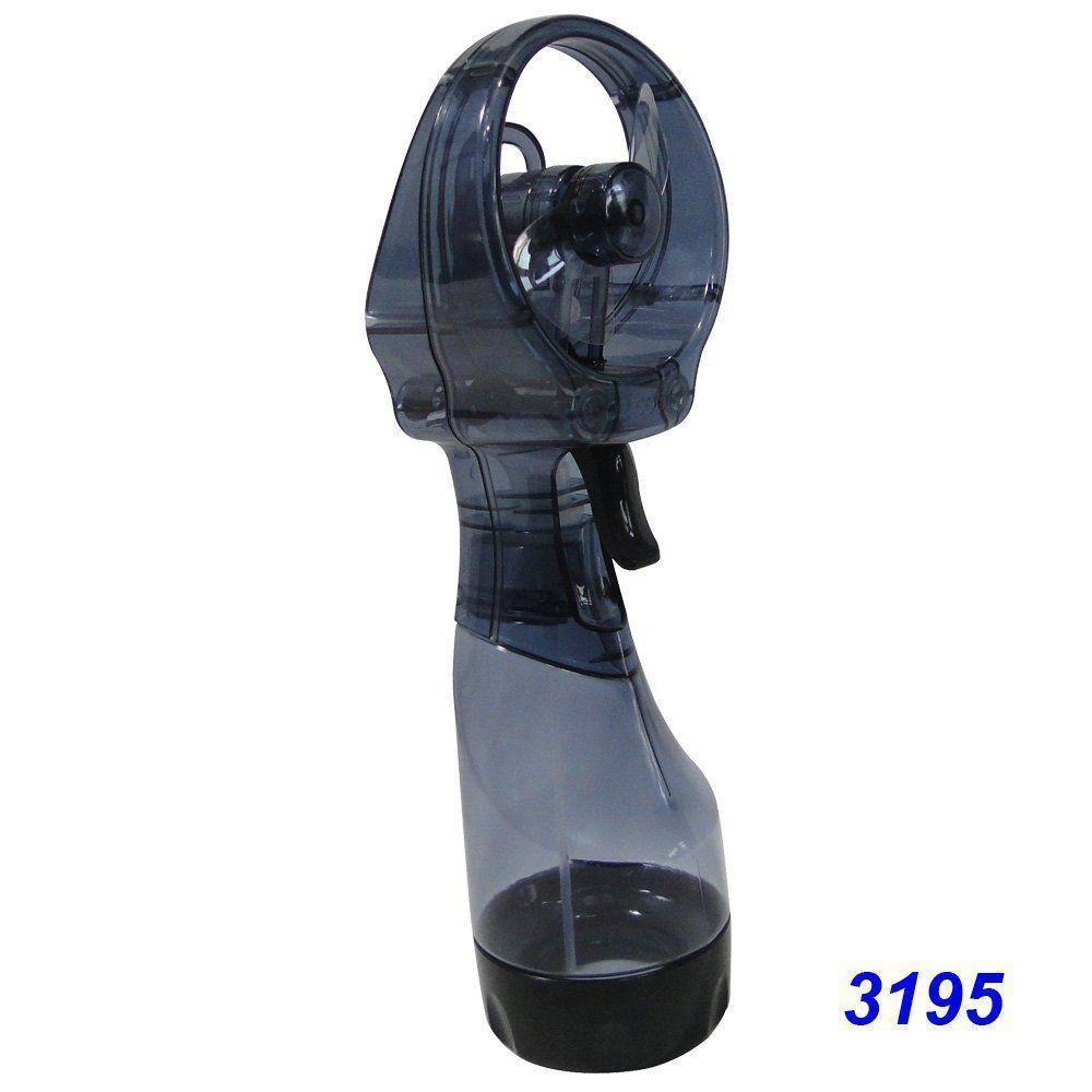 Ventilador Portátil Borrifador Umidificador Spray Plus O2 Cool 3195 - Cinza