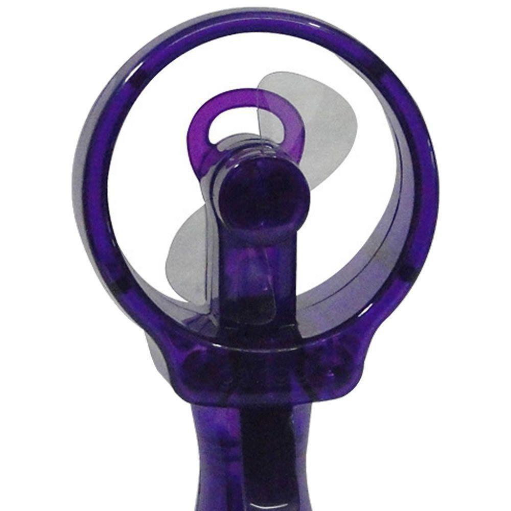 Ventilador Portátil Borrifador Umidificador Spray Plus O2 Cool 3195 - Roxo