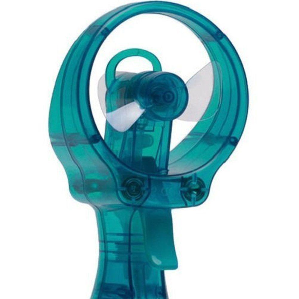 Ventilador portátil borrifador umidificador spray plus O2 Cool Verde Água CBRN0968