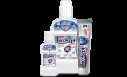 KIT 1 | 1 Enxaguante Bucal de 500ml + 1 Gel dental de 70g + 1 Enxaguante Bucal de 60ml