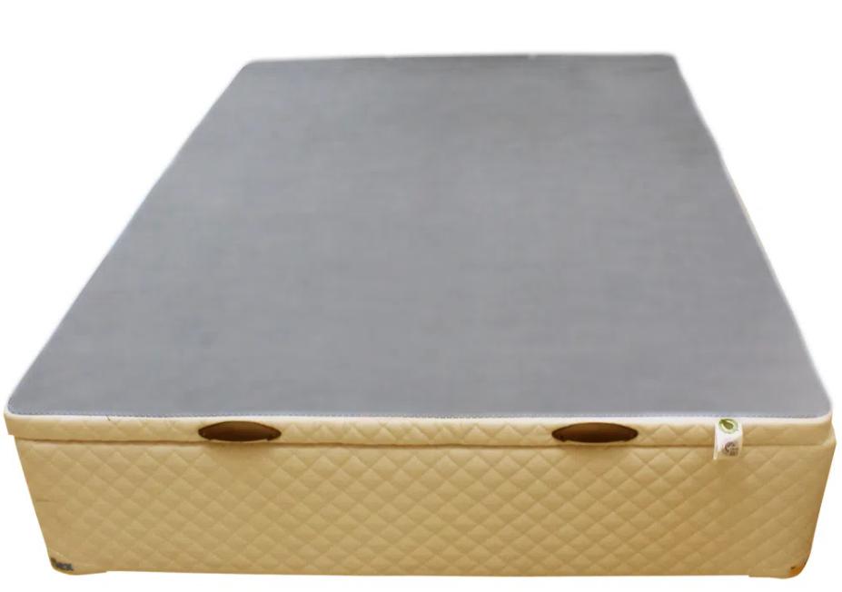 CAMA BOX BAÚ - CASAL - CARAMELO - 138X188