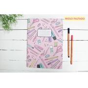 Caderno Flex Universitário - Miolo Pautado - C/80 folhas