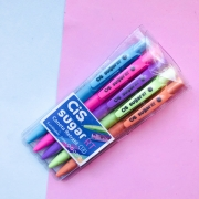 Caneta Esferografica Sugar RT CIS Retrátil Kit com 5
