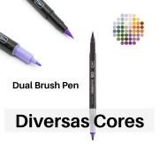 Caneta Pincel DUAL Brush Pen Aquarelavél - Cis