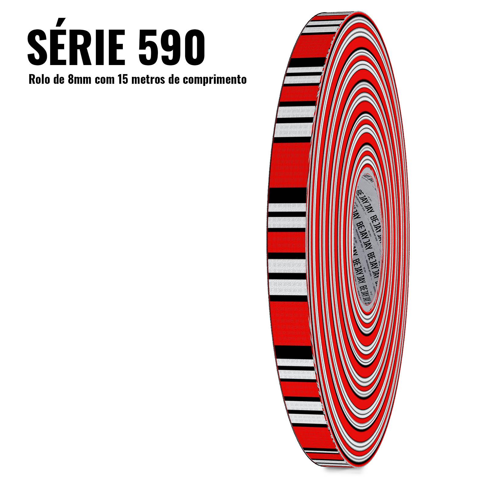 Série 590 - Coral (8mm - Cada rolo tem 15 metros de tape)