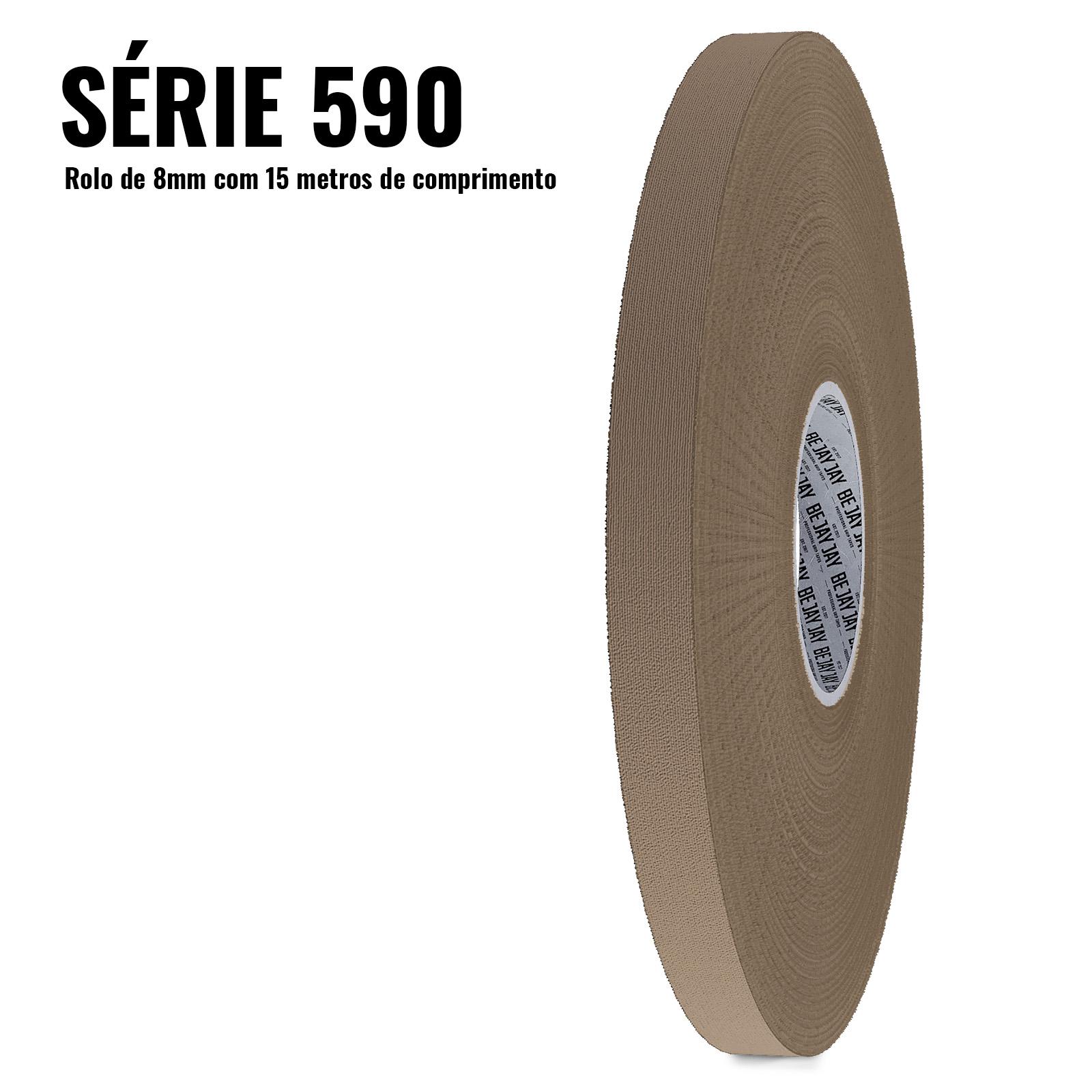 Série 590 - Marrom (8mm - Cada rolo tem 15 metros de tape!)